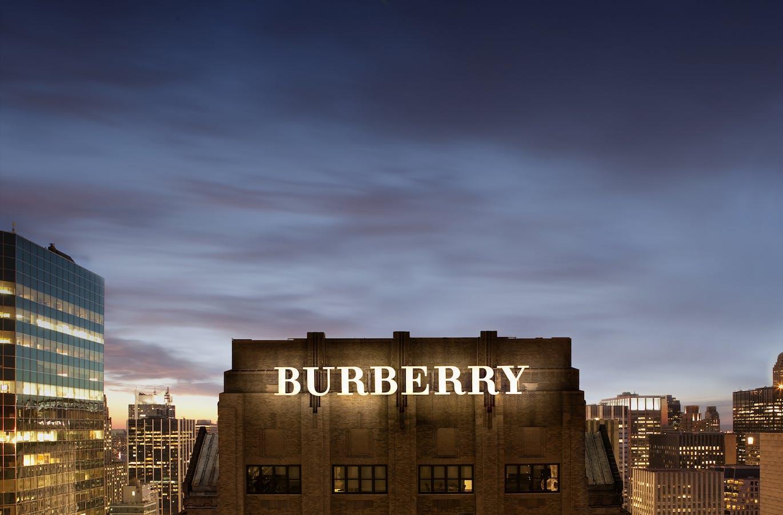 burberry target market