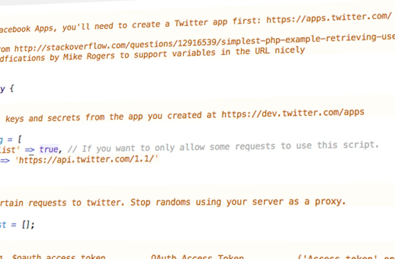 tutorial - retrieving tweets from the twitter v1.1 api using oauth